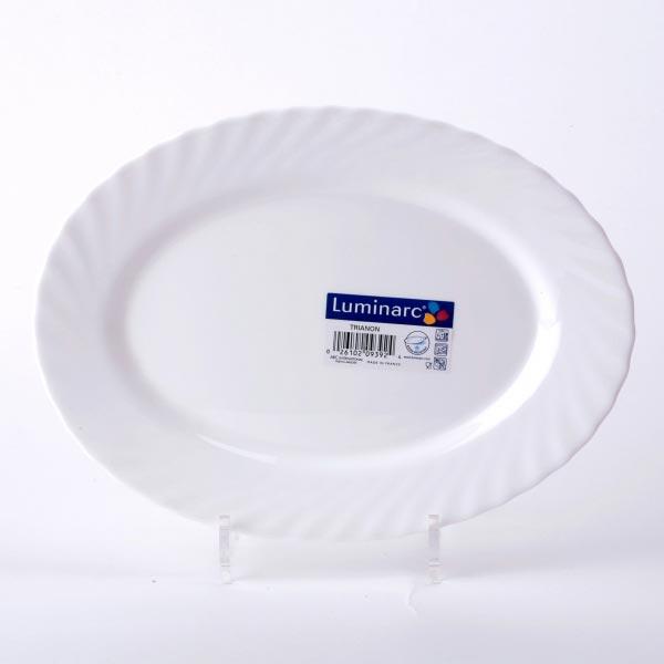 Блюдо TRIANON овальное среднее 29 см - интернет-магазин посуды Luminarc