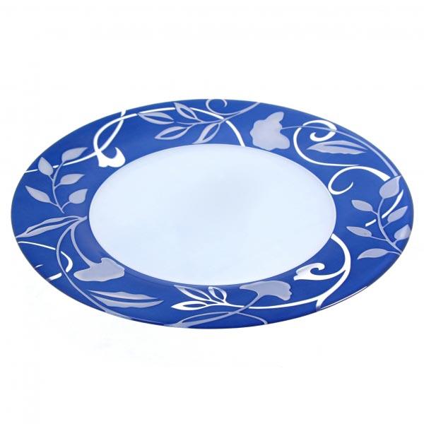 Тарелка обеденная PLENITUDE BLEU 27 см, 6 шт - интернет-магазин посуды Luminarc