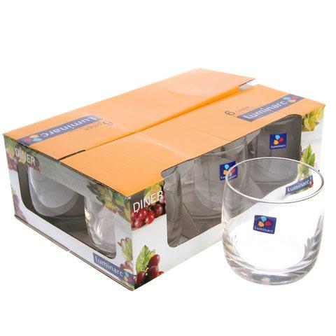 Стаканы DINER низкие 310 мл - интернет-магазин посуды Luminarc