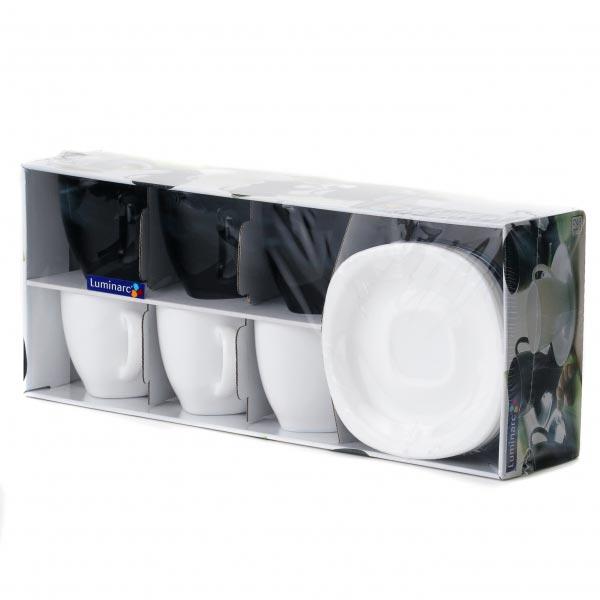 Чайный сервиз CARINE MIX 220мл