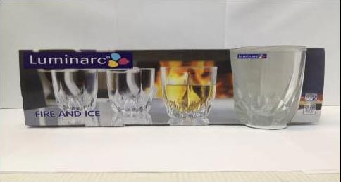 Стаканы FIRE AND ICE низкие 300мл, 3шт