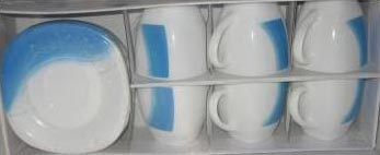 Чайный сервиз BLUE WAVE 220мл