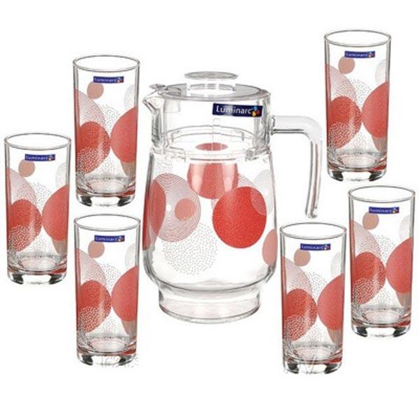 Питьевой набор CONST RED 7 предметов