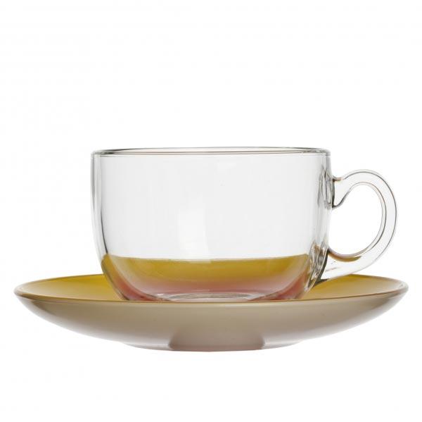 Чайный сервиз FIZZ Lemon 220мл