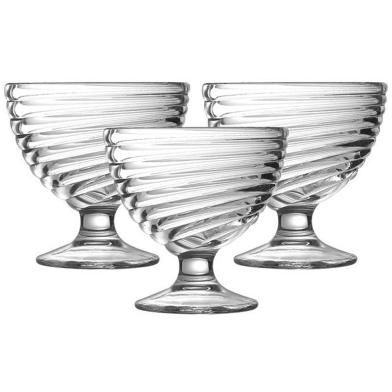 Набор креманок Свирл, 3 шт - интернет-магазин посуды Luminarc