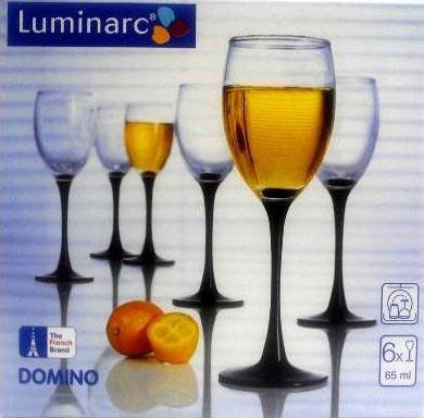 Рюмка Домино 65мл, 6шт