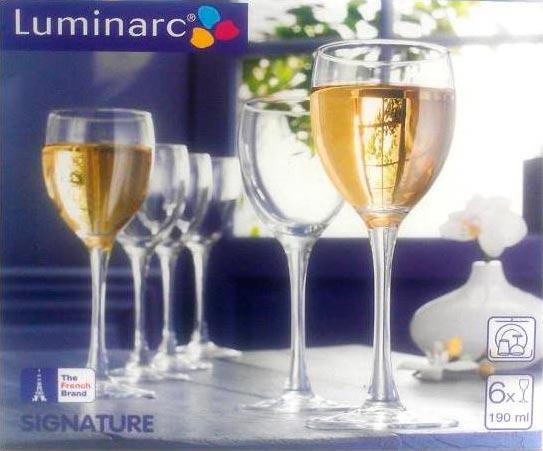 Фужеры для вина Эталон 190 мл, 6 шт - интернет-магазин посуды Luminarc