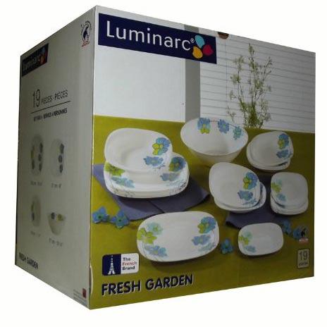 Столовый сервиз CARINE FRESH GARDEN 19 предметов - интернет-магазин посуды Luminarc