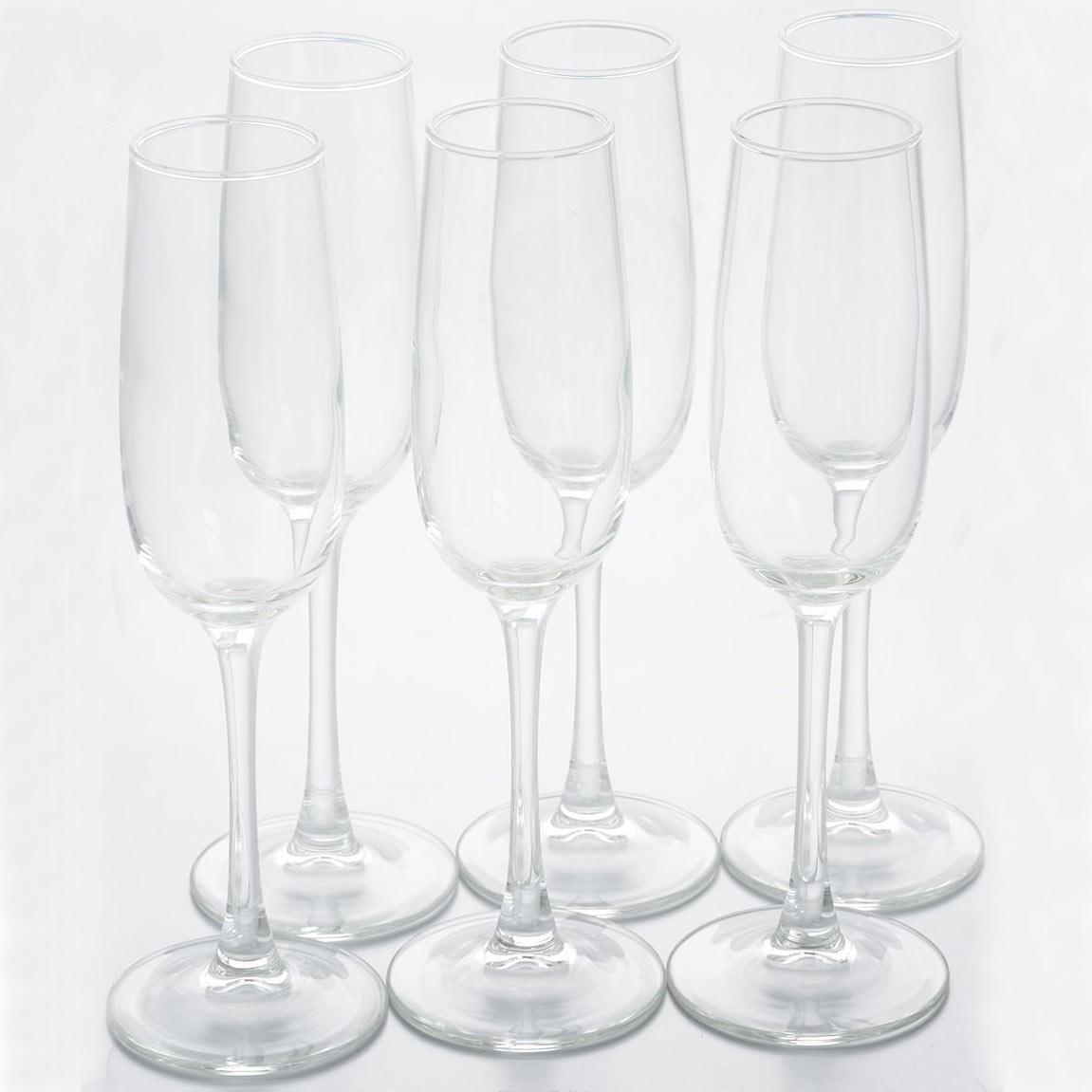 Фужеры для шампанского Аллегресс 175мл, 6шт