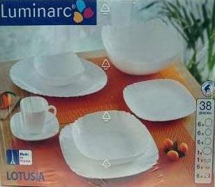 Столовый сервиз LOTUSIA 38 предметов - интернет-магазин посуды Luminarc