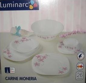 Столовый сервиз CARINE MONERA 26 предметов - интернет-магазин посуды Luminarc