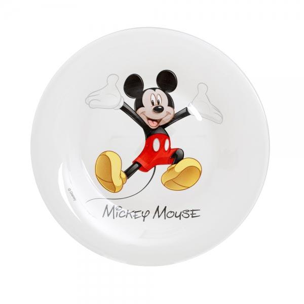 Тарелка десертная DISNEY MICKEY COLORS 19см