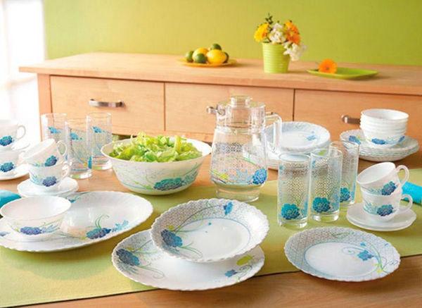 Столовый сервиз ARCOPAL DALIANE 19 предметов - интернет-магазин посуды Luminarc