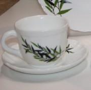 Чайный сервиз LUSTROUS LEAVES 220мл