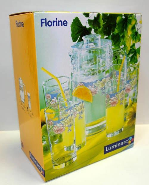 Питьевой набор FLORINE 7 предметов