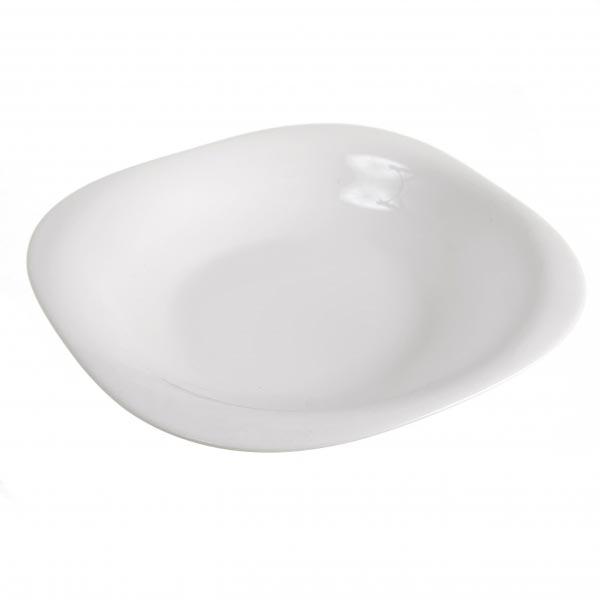 Тарелка глубокая CARINE WHITE 21см