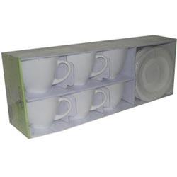 Чайный сервиз CARINE WHITE 220мл