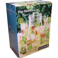 Набор POP FLOWERS GREEN 7 предметов