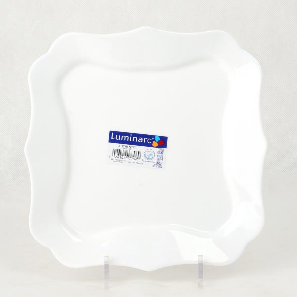 Тарелка обеденная AUTHENTIC WHITE 25.5см