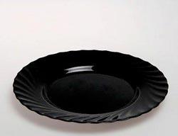 Тарелка обеденная TRIANON NOIR 24.5см