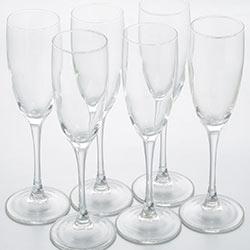 Фужеры для шампанского Эталон 170мл, 6шт