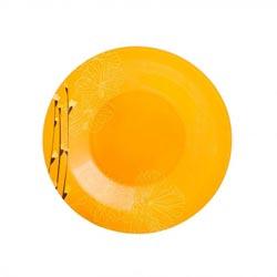 Тарелка глубокая RHAPSODY ORANGE 21.5см