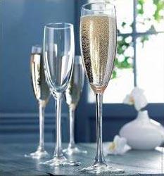 Фужеры для шампанского Эталон 170мл, 3шт
