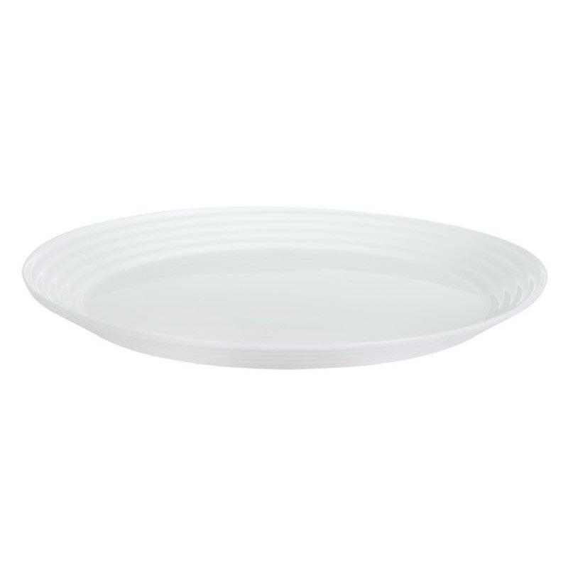 Блюдо HARENA WHITE овальное 33см