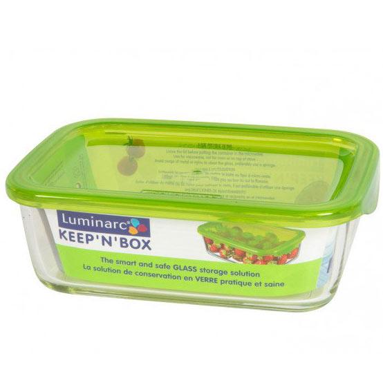 Контейнер с крышкой RECT KEEP N BOX 820мл