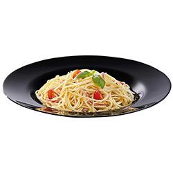 Блюдо для спагетти FRIENDS TIME BLACK 28.5см