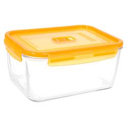 Контейнер с крышкой RECT PURE BOX ACTIVE ORANGE 2.9л