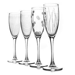 Фужеры для шампанского LOUNGE CLUB 170мл, 4шт