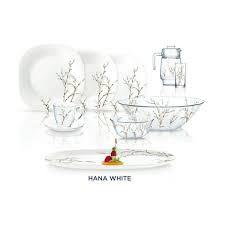 Столовый сервиз CARINE HANA WHITE 69 предметов