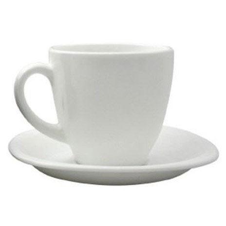 Чайный сервиз CARINA WHITE 220мл